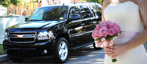 suburban suv wedding car