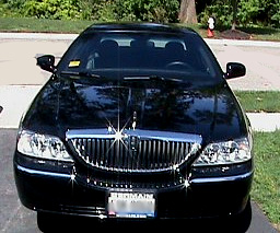 Luxury sedan in Columbus, Ohio