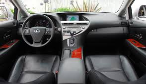 interior Lexus SUV transportation columbus ohio