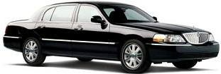 Lincoln Town Car Sedan service in Columbus airport transportation